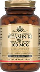 Натуральный витамин К2 100 мкг