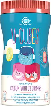 Ю-Кьюбс с кальцием и витамином D3