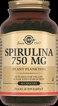 Спирулина 750 мг