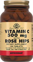 Витамин С и шиповник