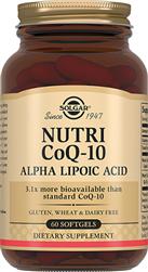 Нутрикоэнзим Q-10 с альфа -липоевой кислотой